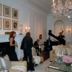 Jazz trio in Ally Coulter designed living room