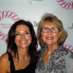 Iris Dankner (L), Holiday House Event Founder and Co-Chair of the 2012 gala event with Dr. Carlin B. Vickery (R) of 5th Avenue Millennium Aesthetic Surgery, one of the event sponsors