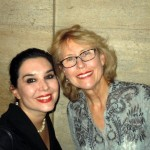 Geralyn Lucas (L), author of Why I Wore Lipstick to my Mastectomy and Dr. Carlin B. Vickery (R)
