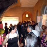 A large crowd attended the 2012 Holiday House gala.  Grand stairway foyer of the mansion at 2 East 63rd Street